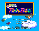 Detana!! TwinBee Loading Screen For The PC Engine (JP Version)