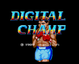 Digital Champ Loading Screen For The PC Engine (JP Version)