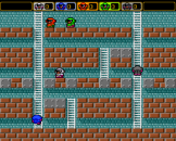 Battle Lode Runner Screenshot 1 (PC Engine (JP Version))