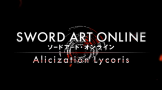 Sword Art Online: Alicization Lycoris Loading Screen For The PlayStation 4 (US Version)