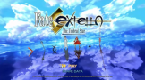 Fateextella The Umbral Star Loading Screen For The PlayStation Vita