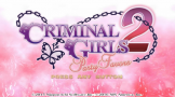 Criminal Girls 2: Party Favours Loading Screen For The PlayStation Vita