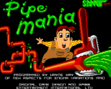 Pipe Mania Loading Screen For The Sam Coupe