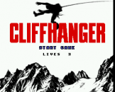 Cliffhanger Loading Screen For The Sega Genesis
