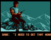Cliffhanger Screenshot 7 (Sega Genesis)