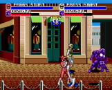 Mighty Morphin Power Rangers The Movie Screenshot 1 (Sega Genesis)