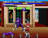 Mighty Morphin Power Rangers The Movie Screenshot 2 (Sega Genesis)