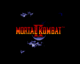 Mortal Kombat II Loading Screen For The Sega Master System (EU Version)