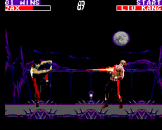 Mortal Kombat II Screenshot 2 (Sega Master System (EU Version))