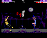 Mortal Kombat II Screenshot 3 (Sega Master System (EU Version))