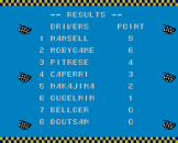 Super Racing Screenshot 5 (Sega Master System (JP Version))