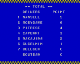 Super Racing Screenshot 13 (Sega Master System (JP Version))