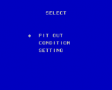 Super Racing Screenshot 7 (Sega Master System (JP Version))