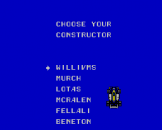 Super Racing Screenshot 15 (Sega Master System (JP Version))