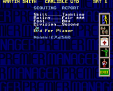 Premier Manager 97 Screenshot 23 (Sega Mega Drive (EU Version))