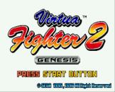 Virtua Fighter 2 Loading Screen For The Sega Mega Drive (EU Version)