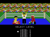 Champion Boxing Screenshot 1 (SC-3000/SG-1000)