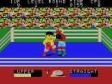 Champion Boxing Screenshot 2 (SC-3000/SG-1000)