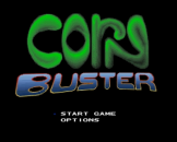 Corn Buster Loading Screen For The Super Nintendo (US Version)