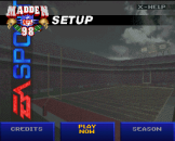 Madden NFL 98 Screenshot 1 (Super Nintendo (US Version))