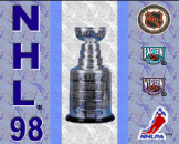 NHL '98 Loading Screen For The Super Nintendo (US Version)