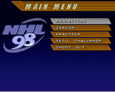 NHL '98 Screenshot 1 (Super Nintendo (US Version))