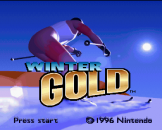 Winter Gold Loading Screen For The Super Nintendo (EU Version)