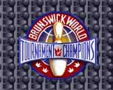 Brunswick World: Tournament Of Champions Loading Screen For The Super Nintendo (US Version)