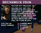 Brunswick World: Tournament Of Champions Screenshot 22 (Super Nintendo (US Version))