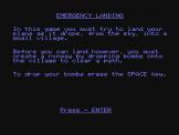 Emergency Landing Screenshot 1 (Spectravideo 318)