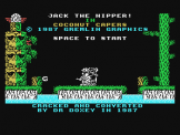 Jack The Nipper II: In Coconut Capers Screenshot 1 (Spectravideo 328)