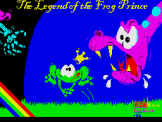 The Legend Of The Prince Frog Loading Screen For The Spectrum 48K/128K/+2/+3