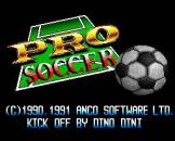 Pro Soccer Loading Screen For The Super Famicom