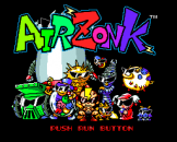 Air Zonk Loading Screen For The PC Engine (EU Version)/TurboGrafix-16 (US Version)