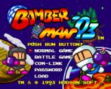 Bomberman '93 Loading Screen For The PC Engine (EU Version)/TurboGrafix-16 (US Version)