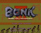 Bonk 3: Bonk's Big Adventure Loading Screen For The PC Engine (EU Version)/TurboGrafix-16 (US Version)