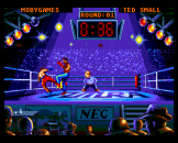 Andre Panza Kick Boxing Screenshot 2 (PC Engine (EU Version)/TurboGrafix-16 (US Version))