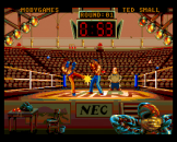 Andre Panza Kick Boxing Screenshot 3 (PC Engine (EU Version)/TurboGrafix-16 (US Version))