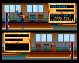 Andre Panza Kick Boxing Screenshot 5 (PC Engine (EU Version)/TurboGrafix-16 (US Version))