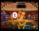 Andre Panza Kick Boxing Screenshot 7 (PC Engine (EU Version)/TurboGrafix-16 (US Version))