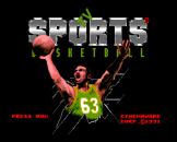 TV Sports Basketball Loading Screen For The PC Engine (EU Version)/TurboGrafix-16 (US Version)