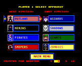 TV Sports Basketball Screenshot 1 (PC Engine (EU Version)/TurboGrafix-16 (US Version))