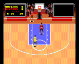 TV Sports Basketball Screenshot 2 (PC Engine (EU Version)/TurboGrafix-16 (US Version))