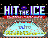 Hit The Ice Loading Screen For The PC Engine (EU Version)/TurboGrafix-16 (US Version)
