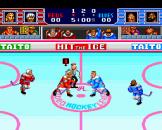 Hit The Ice Screenshot 2 (PC Engine (EU Version)/TurboGrafix-16 (US Version))