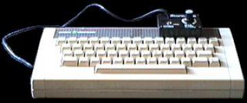 An Acorn Electron Fitted With Sound Master