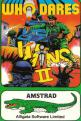 """Who Dares Wins II (3"""" Disc) For The Amstrad CPC464"""