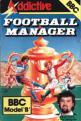 Football Manager (Cassette) For The BBC Model B