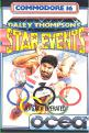 Daley Thompson's Star Events (Cassette) For The Commodore 16/Plus 4