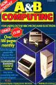 A&B Computing 1.09 (Magazine) For The BBC/Electron